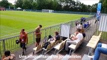 Les Suèdoises s'entraînent à la Brocardière la veille de leur demi-finale