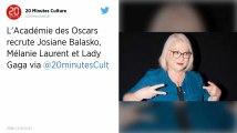 L'Académie des Oscars se féminise avec l'arrivée de Lady Gaga, Josiane Balasko ou encore Camille Cottin