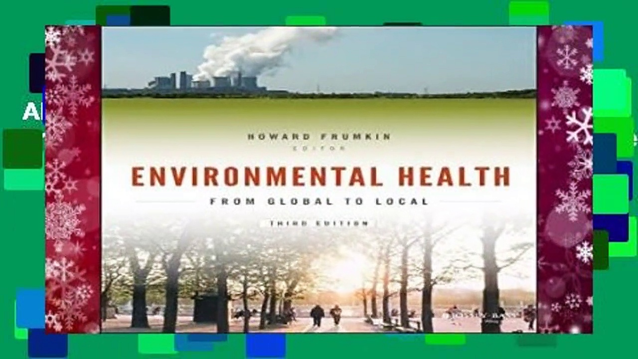 About For Books  Environmental Health: From Global to Local (Public Health/Environmental Health)