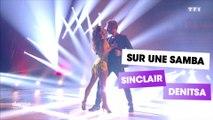 "DALS S08 - Sinclair et Denitsa Ikonomova dansent une samba sur ""Shape of you"" (Ed Sheeran)"