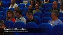 Recycler et utiliser en Corse : l'économie circulaire en forum à l'IMF de Borgu