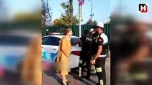 Une femme pense que crier sur des policiers va lui éviter de prendre une amende !