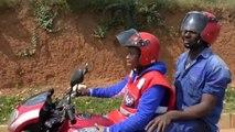 Rwanda, LES FEMMES CONDUCTRICES DE TAXIS-MOTOS