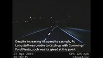 Drink driver Robert Cummings led police on 125mph A19 chase