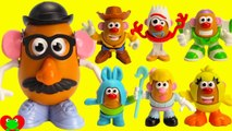 Toy Story 4 Magic Mr. Potato Head Mix and Match Woody, Forky, and Buzz Lightyear