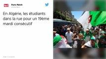 Algérie : Les étudiants dans la rue pour un 19e mardi consécutif