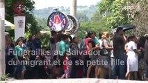 Salvador: proches et amis aux funérailles des migrants morts