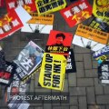 Hong Kong grapples with protest aftermath; China demands criminal probe