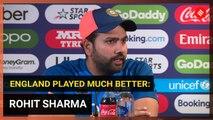 Rohit Sharma explains why India batted slower against England