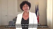 Allocution de Frédérique Vidal - 5ème journée nationale des référents égalité