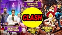 """Sid- Pari's """"JABARIYA JODI' CLASH with Sonakshi's 'KHANDAANI SHAFAKHANA'"""