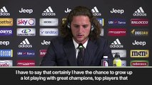 (Subtitled) 'Ronaldo played a role in me joining' - Rabiot on signing for Juventus