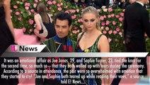 Sophie Turner & Joe Jonas Were Both In Tears Saying Vows During Emotional Wedding Ceremony