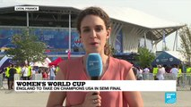 Women's World Cup: England to take on champions USA in semi-final