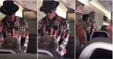 Jogador tenta comprar lugar no avião a passageiro por 1500 dólares... mas este recusou!