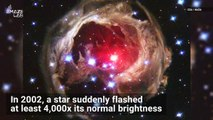 This Star Mysteriously Became 600,000 Times Brighter Than Our Sun