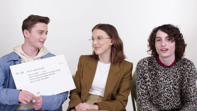Millie Bobby Brown, Finn Wolfhard & Noah Schnapp Answer the Web's Most Searched Questions