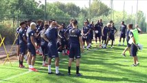 Le Sporting Toulon en ordre de marche