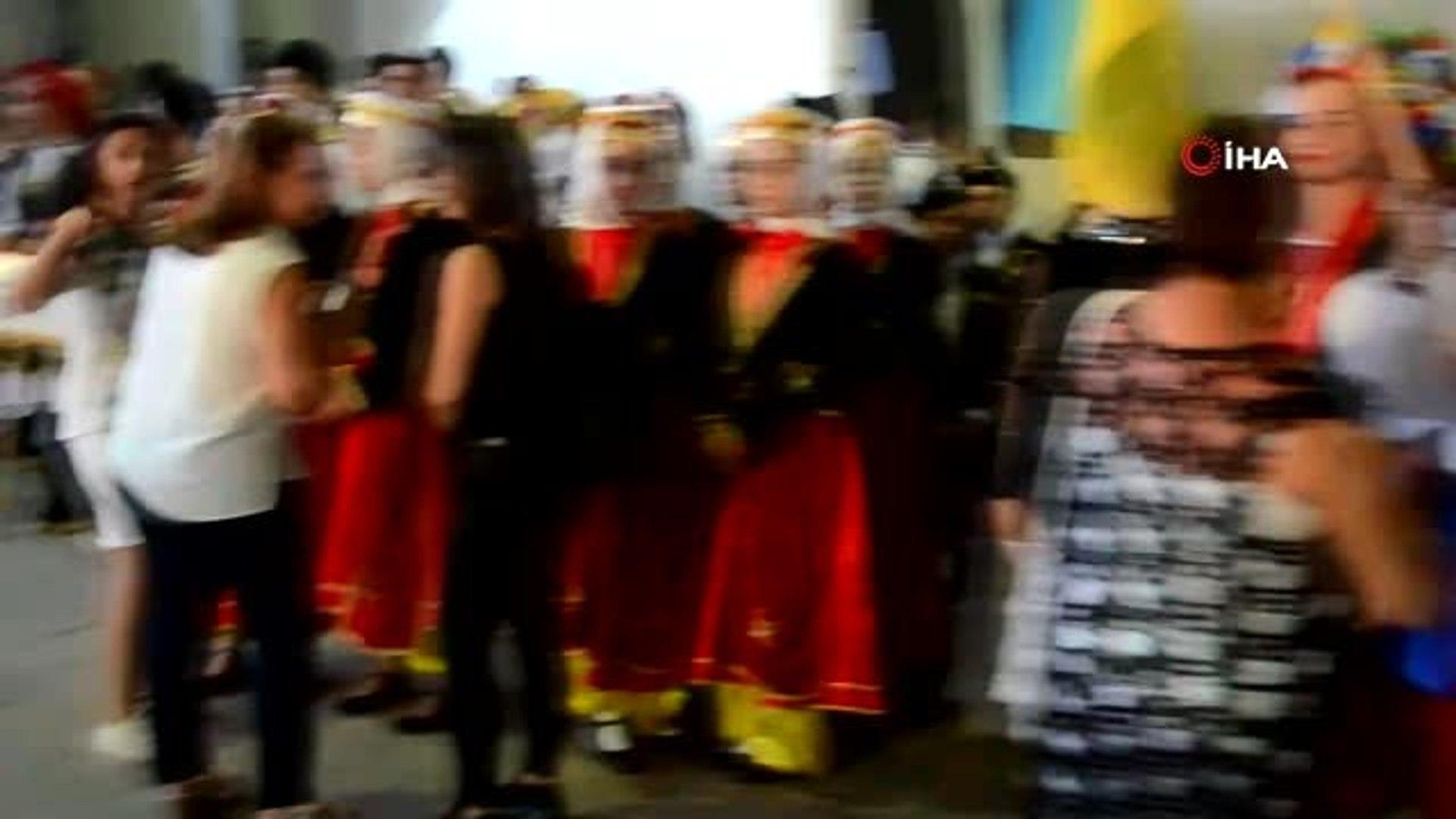 Sarımsaklı Trophy 2019 Uluslararası Kültür ve Halk Oyunları Festivali sona erdi