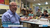 Meuse : les derniers jours d'une école avant sa fermeture