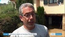 Orages : l'Auvergne Rhône-Alpes sévèrement touchée