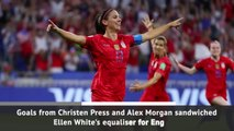 USA beat England in Women's World Cup semi-final