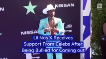 Lil Nas X Receives Support From Celebs After Being Bullied for Coming out