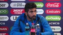 India's Jasprit Bumrah post win v Bangladesh