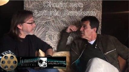 Antonio Banderas charla de cine y la vida