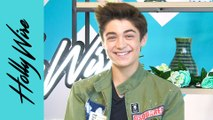 Asher Angel Reveals What Annie LeBlanc's 'A' Shaped Flowers ACTUALLY Stand For!