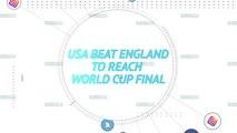 Socialeyesed - USA beat England to reach World Cup final