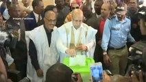 Mauritanie, LES CHANTIERS DU NOUVEAU PRÉSIDENT