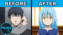 Top 10 Anime Characters Reborn As Powerful Beings