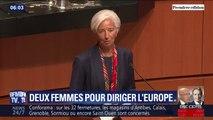 Ursula von der Leyen et Christine Lagarde, deux femmes à la tête de l'Europe