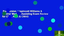 Full version  Lippincott Williams & Wilkins' Medical Assisting Exam Review for CMA, RMA & CMAS
