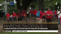Essais nucléaires : plus de 2000 personnes dans les rues de Papeete pour commémorer le premier tir