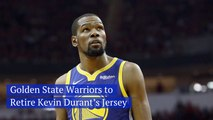 The Golden State Warriors Honor Kevin Durant