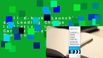 Full E-book  Launching and Leading Change Initiatives in Health Care Organizations: Managing