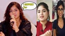 Jannat Zubair gives a BIG statement on Zaira Wasim quitting Bollywood | Watch after 5.10