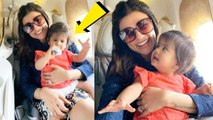 Wow !Sushmita Sen ADORABLE Picture with Newborn Baby !Who is she