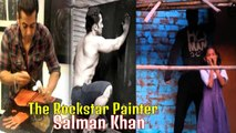 Wow! When Salman Khan Himself Painted Whole Village | Being Human at Its Best|
