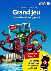 """Magazine """" La mer, c'est quoi ? """" Ouest-france  Grand Jeu"""