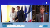 Union européenne : la France et l'Allemagne reprennent la main
