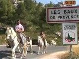 Randonnée à cheval dans les Alpilles