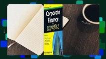 Full version  Corporate Finance for Dummies  Best Sellers Rank : #5