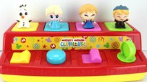 Learn Colors with Disney Frozen 2 Pop Up Toy Fashems, Anna, Elsa. Olaf