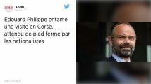 Édouard Philippe en visite en Corse pour apaiser les relations