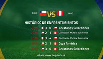 Previa partido entre Chile y Perú Jornada 2 Copa América