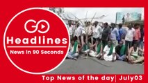 Top News Headlines of the Hour (03 July, 2:15 PM)