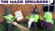 The Magic Spellbook with Funny Funlings and Thomas and Friends Learn Colors Learn English Prank Spooky Halloween Challenge Family Friendly Full Episode